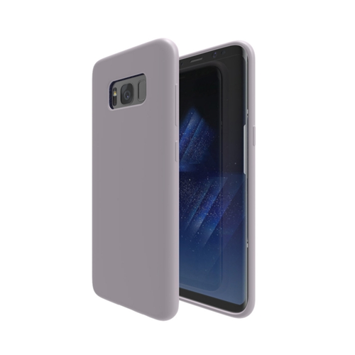 Axessorize Fitted Soft Shell Case for Samsung Galaxy S8 Plus - Pearl