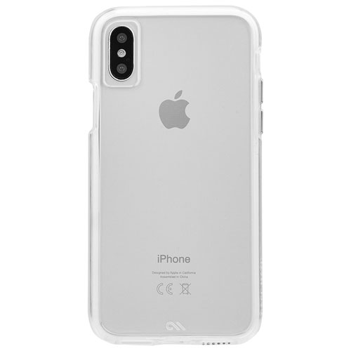 new product 93b82 4fcac Case-Mate Naked Tough Fitted Hard Shell Case for iPhone X - Clear ...