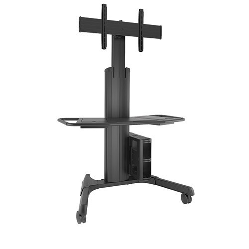 Chief Large Fusion Manual Height Adjustable Mobile AV Cart Mount (LPAUB)
