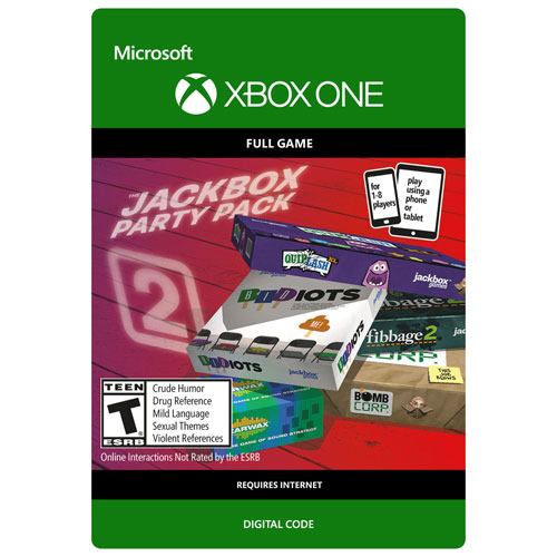 The Jackbox Party Pack 2 (Xbox One) - Digital Download ...