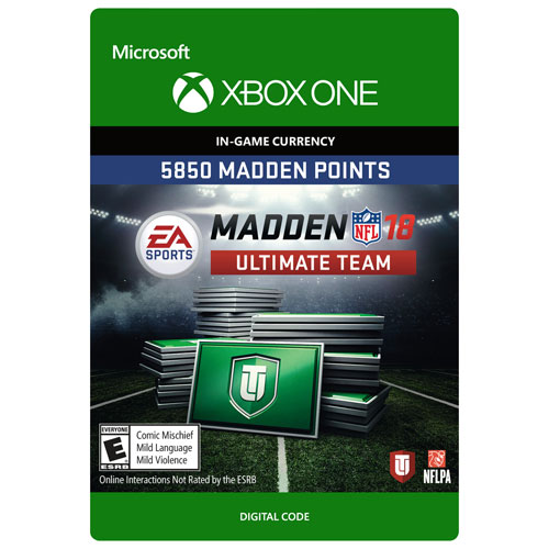 Madden NFL 18 5850 Madden Points (Xbox One) - Digital Download