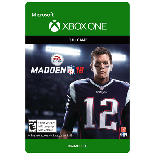 Madden NFL 18 (Xbox One) - Digital Download   Xbox One Games - Best ... 02b60058599