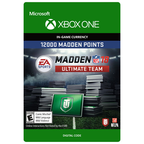 Madden NFL 18 - 12000 Madden Points Pack (Xbox One) - Digital Download