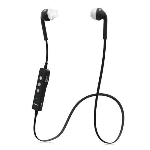 agptek waterproof sport bluetooth v4 0 wireless stereo headset mic for galaxy s3 s4 s5 black. Black Bedroom Furniture Sets. Home Design Ideas