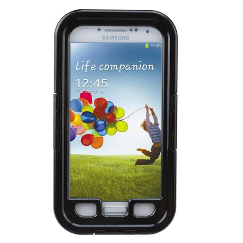 AGPtek Snow Water Dirt Proof Waterproof Case Cover for Samsung Galaxy S4 SIV i9500 - Black