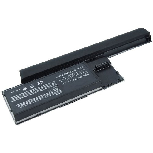 AGPtek 11.1V 9Cell 6600mAh Silver Grey Li-ion Laptop battery replacement for Dell Latitude D620 D631 Precision M2300