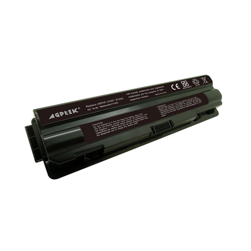 AGPtek 9 Cell Laptop Battery for DELL XPS 14 6600mAh Black