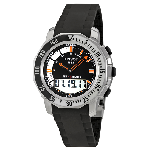 tissot t touch sea touch mens watch t026 420 17 281 01 mens rh bestbuy ca Tissot Sea Touch Watch tissot sailing touch user manual