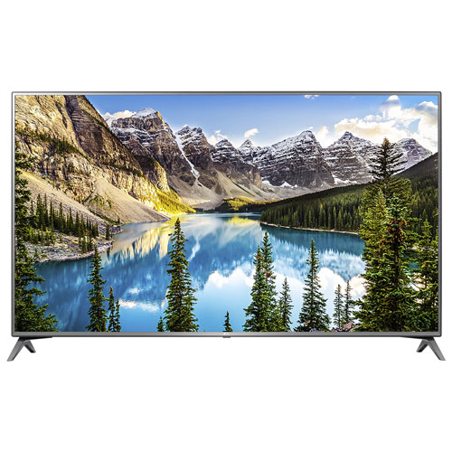 "LG 70"" 4K UHD HDR LED WebOS Smart TV (70UJ6570) - Only at Best Buy"