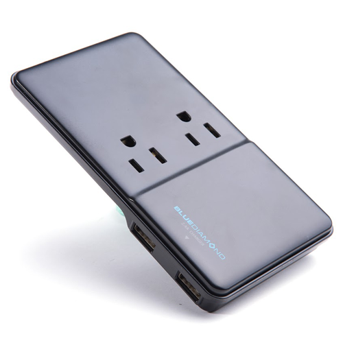 Expand Slim + Charge, 2 Outlets