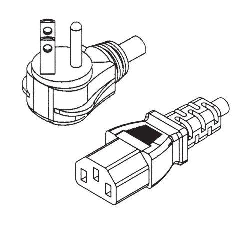 Na 3c Flat Plug 45 Powercord