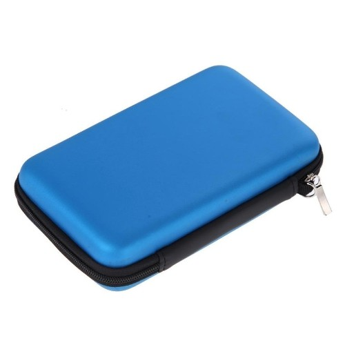 New Nintendo 2DS XL Protective Hard Travel Cases Cover Box Bag -Blue