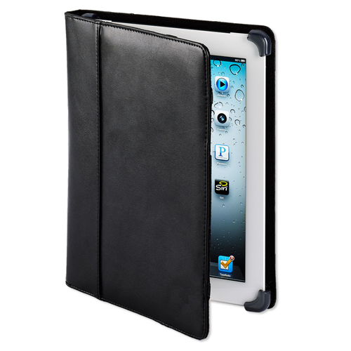 IC-1003 LeatherFolio New iPad Case - BK