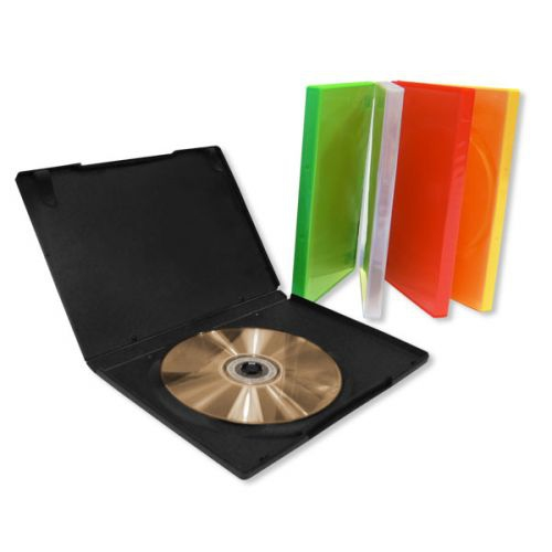 CD/DVD Storage Cases - 5pk, Assorted