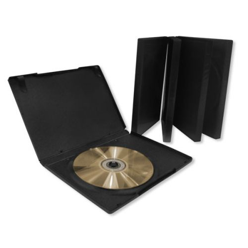CD/DVD Storage Cases - 5 Pack