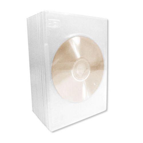 CD/DVD Slim Storage Cases - 10pk