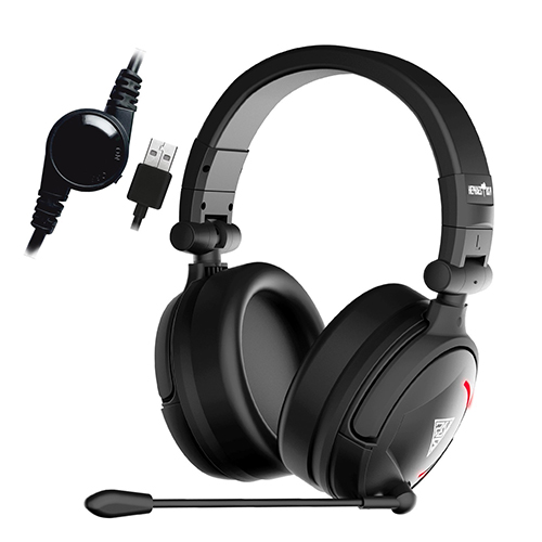 Gamdias GHS-3500 Hephaestus V2 Stereo Lighting Wired Gaming Headset