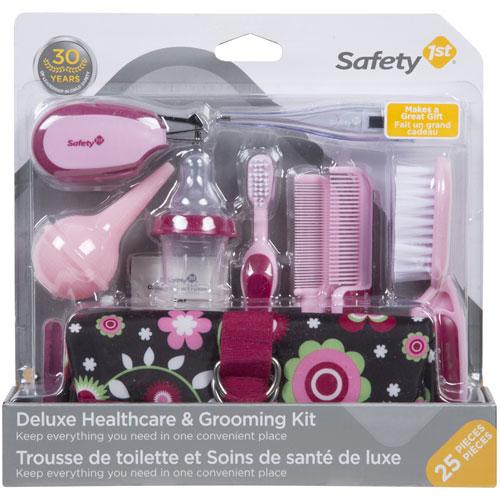 Trousse de soins et de santé de luxe de Safety 1st - 25 pièces - Rose    Trousses de toilette pour bébé - Best Buy Canada 70fa331bc90