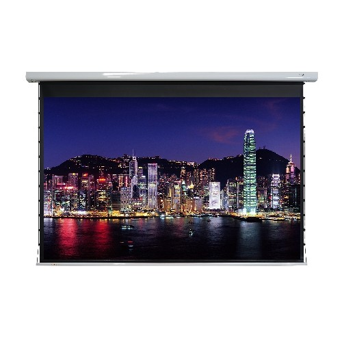 "EluneVision Titan Tab-Tensioned 135"" 4:3 Motorized Projector Screen"