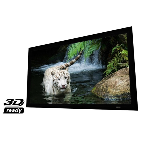 "EluneVision Reference Studio 4K 84"" Fixed-Frame 16:9 Projector Screen"