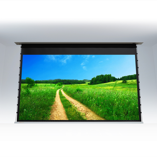 "EluneVision 100"" 4:3 In-Ceiling Motorized Projector Screen"