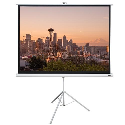 "EluneVision 70"" X 70"" 1:1 Portable Tripod Projector Screen"