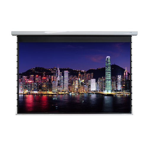 "EluneVision Titan Tab-Tensioned 106"" 4:3 Motorized Projector Screen"