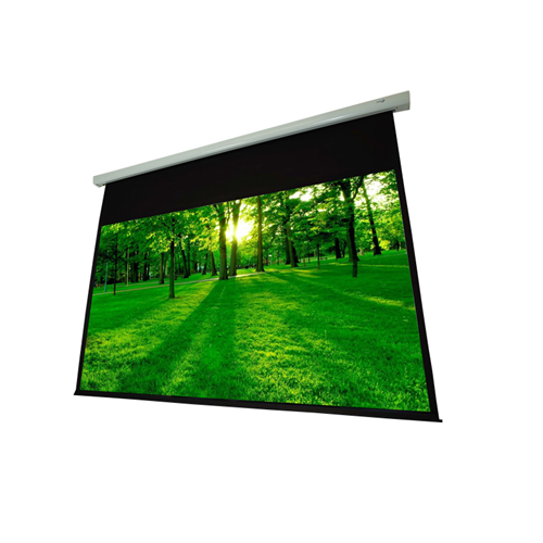 "EluneVision Luna 92"" 1.1 Grey Motorized 16:9 Projector Screen"