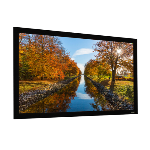 "EluneVision Elara 120"" 16:9 Fixed-Frame 1.1 Grey Projector Screen"