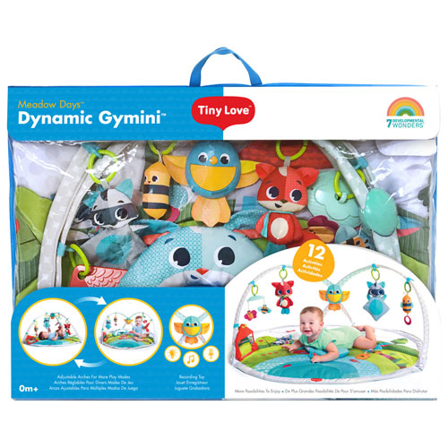 Tiny Love Meadow Days Dynamic Gymini Activity Mat - Multi-Color