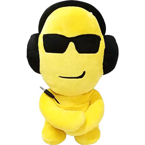 iTalk Plush Emoji Portable Speaker - Sunglasses/Cool
