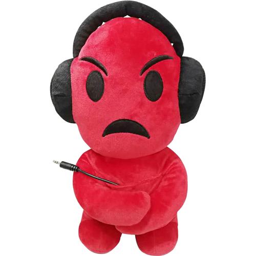 iTalk Plush Emoji Portable Speaker - Angry