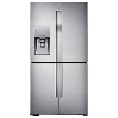 Samsung 36 Quot 28 1 Cu Ft 4 Door French Door Refrigerator