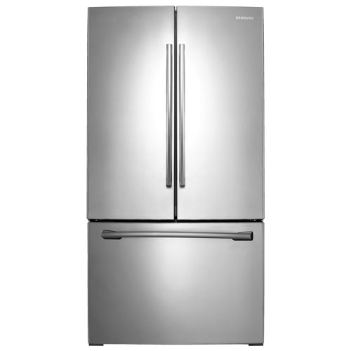 Samsung 36 Quot 25 5 Cu Ft French Door Refrigerator With Led