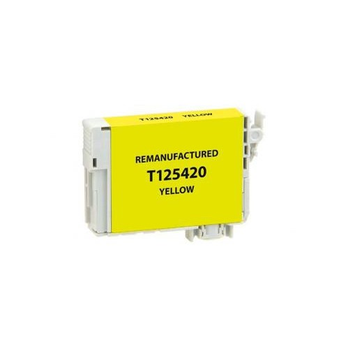 Remanufactured Yellow Ink Cartridge for Epson T125420 (EPC25420)