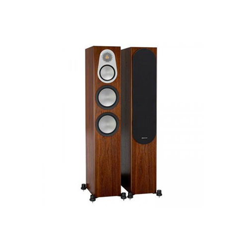 Monitor Audio SILVER 300 Audiophile Floorstanding Speaker - Walnut (Pair)