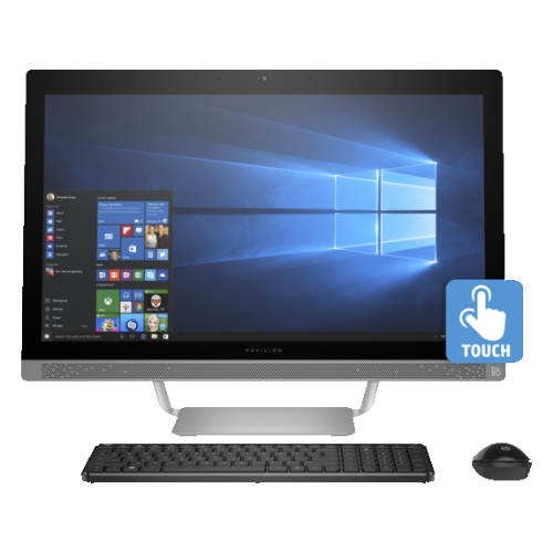 HP Pavilion 27-a230 All-in-One PC (Intel Core i5-7400T / 1 TB HHD / 12 / Intel HD Graphics 630 / Windows 10) - (Z5M04AA#ABA)
