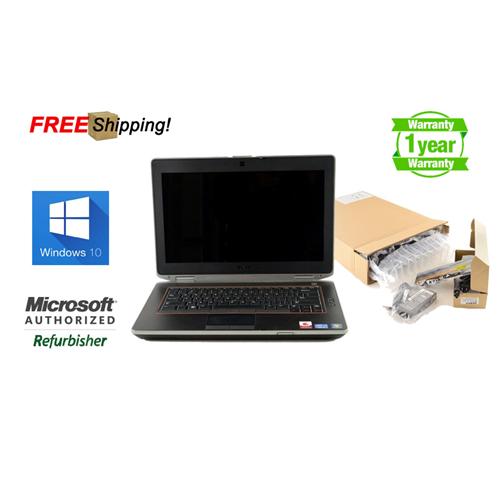 "Dell Latitude E6420 i5 2430M 2.4, 4G, 250G, DVDRW, 14"", HDMI, Windows 10 Professional, Refurb, 1 Year Warranty, Free Shipping"