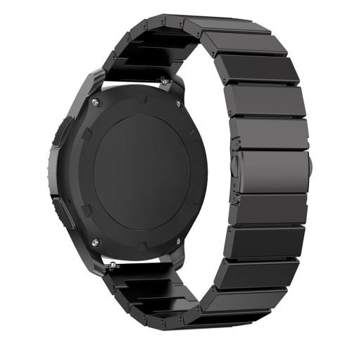 Bracelet en acier inoxydable pour Samsung Gear S3 Classic / Frontier en  noir , En ligne seulement