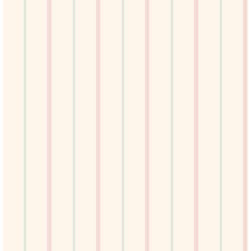 Brewster You Are My Sunshine Little Tailor Pinstripe Wallpaper - Beige
