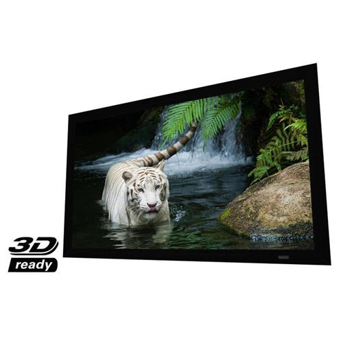 "Elunevision Reference Studio 4K 110"" AudioWeave 1.15 Fixed-Frame 2.35:1 Projector Screen"