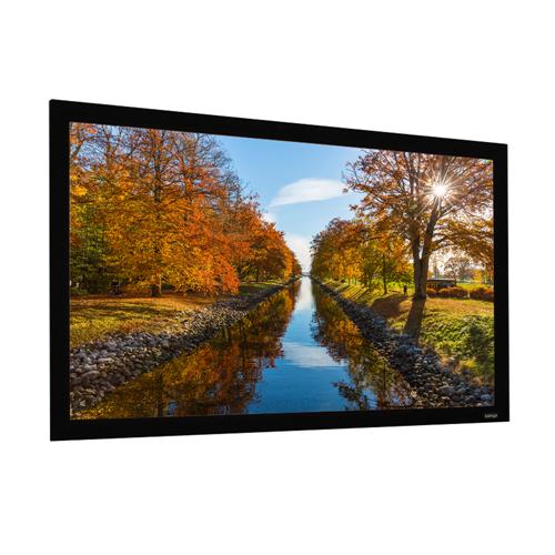 "EluneVision Elara 92"" 16:9 Fixed-Frame 1.1 Grey Projector Screen"