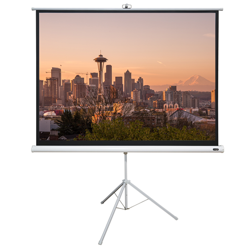 "EluneVision 72"" 4:3 Portable Tripod Projector Screen"
