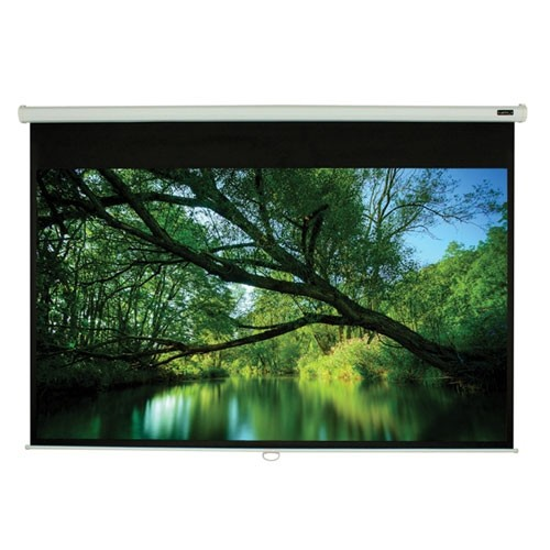 """EluneVision Triton 135"""" 4:3 Manual Pull-Down Projector Screen"""