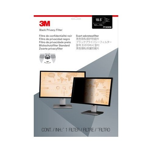 "3M Privacy Filter for 18.5"" Widescreen Monitor (PF185W9B)"