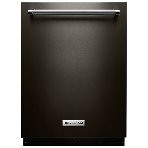 lave vaisselle 24 po 39 db cuve acier inoxydable 3e panier de kitchenaid kdte334gbs inox. Black Bedroom Furniture Sets. Home Design Ideas