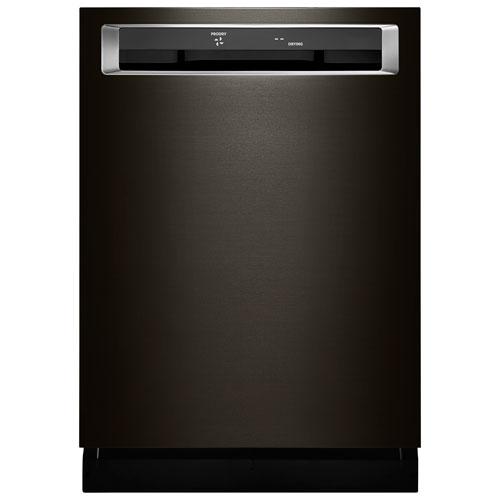 lave vaisselle 24 po 39 db cuve acier inoxydable 3e panier de kitchenaid kdpe334gbs inox. Black Bedroom Furniture Sets. Home Design Ideas