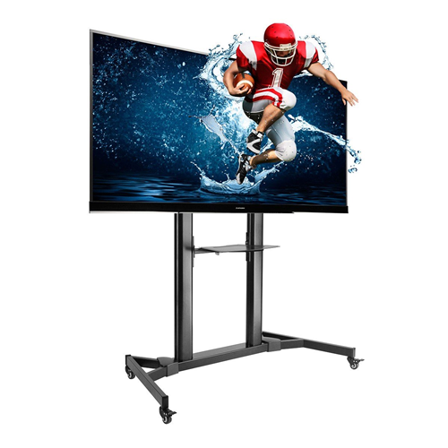 """Boost Industries Universal Mobile TV Cart AVC-55100 TV Stand for 55""""-100"""" TVs"""