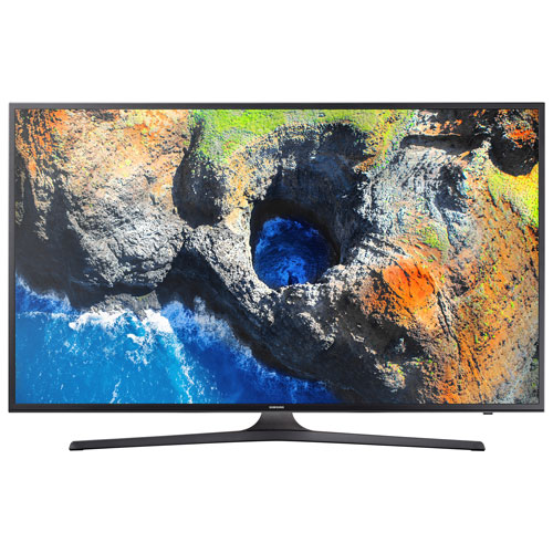 "Samsung 55"" 4K Ultra HD HDR LED Tizen Smart TV (UN55MU6290FXZC) - Dark Titan"