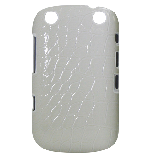 Exian Fitted Hard Shell Case for Blackberry Curve 9320 - White